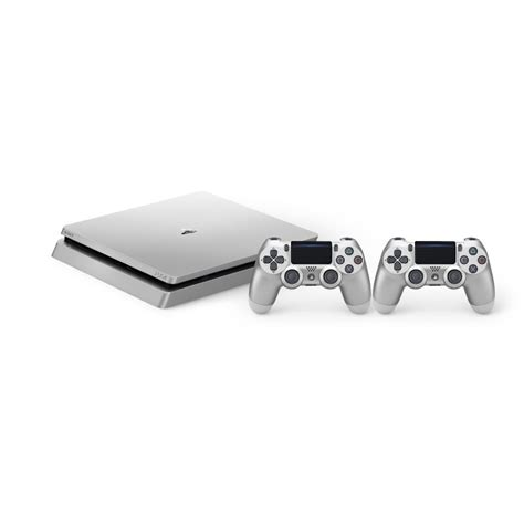 Playstation 4 Ps4 Slim 500gb Dualshock 4 sony ps4 playstation 4 slim 500gb silver 2 dualshock