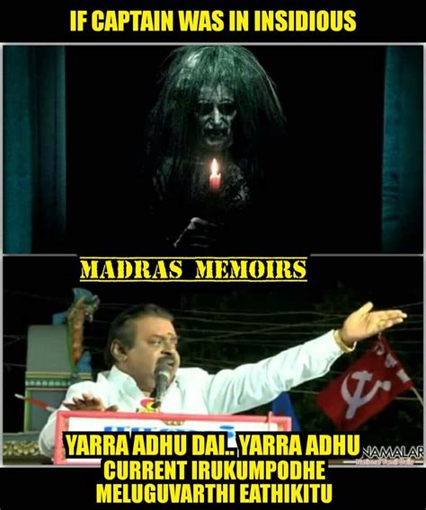 Vijayakanth Memes - vijayakanth funny meme collection part 2 tamil meme