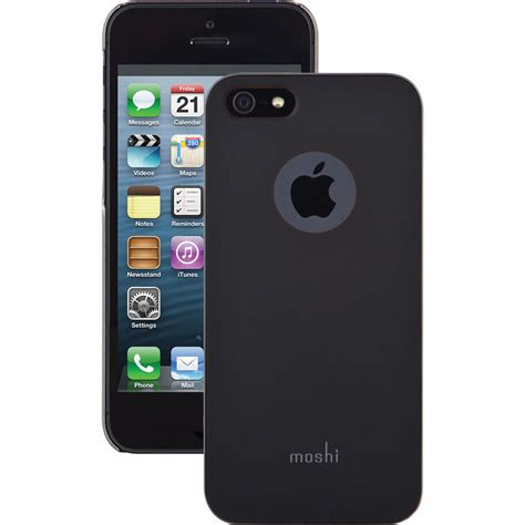 D8690 Special Black Casing Iphone 5 5s Se 6 6s Kode Rr8690 2 moshi iglaze for iphone 5 5s se graphite black 99mo061001