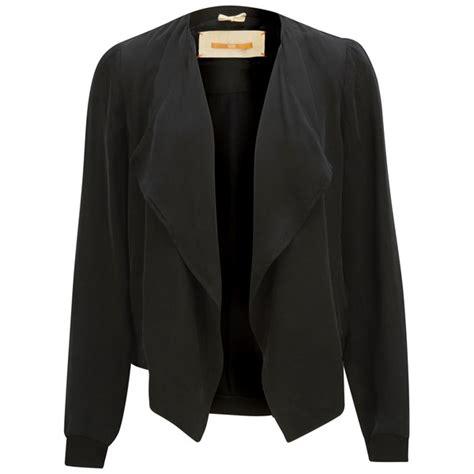drape jacket womens boss orange women s oethna drape jacket black womens