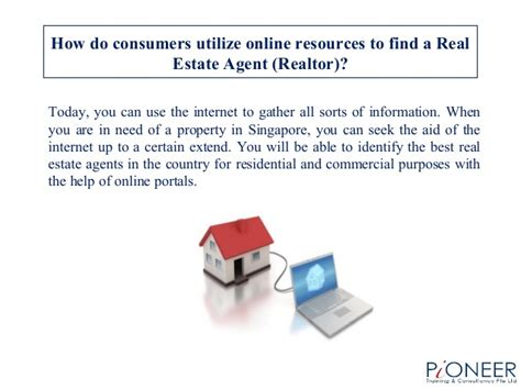 how to find a realtor to buy a house how do consumers utilize online resources to find a real