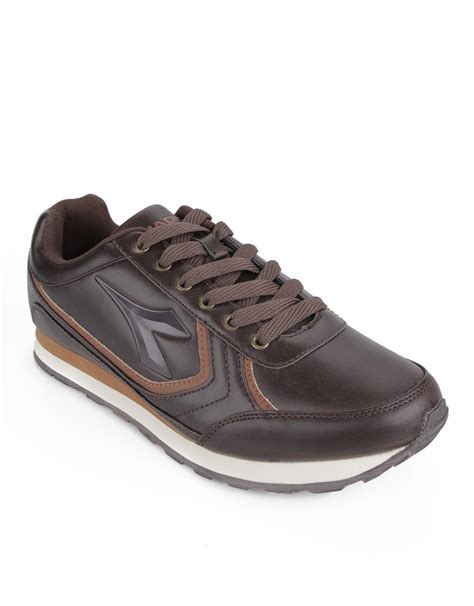 Sepatu Diadora Brown diadora bruno s casual sneaker cokelat
