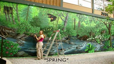 what paint to use for wall murals how to paint murals painting step by step on vimeo