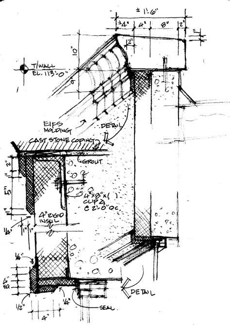 eifs wall section details