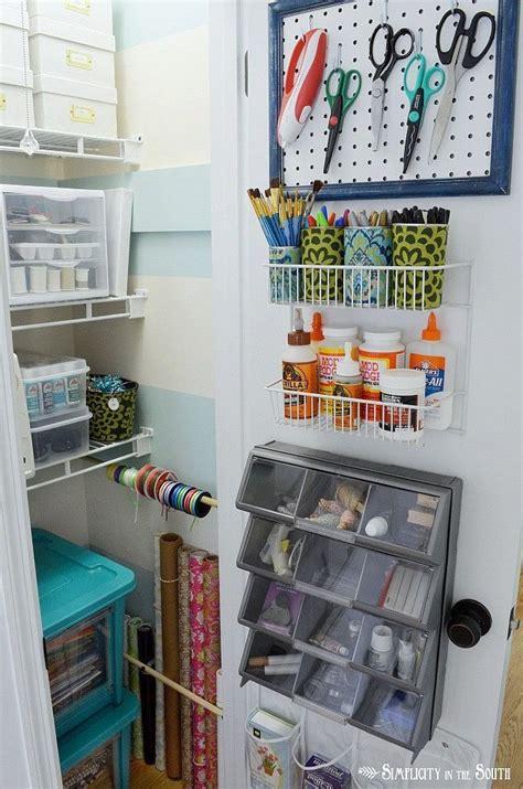 Craft Closet Ideas by Craft Closet Organization Ideas Creativity Uncluttered