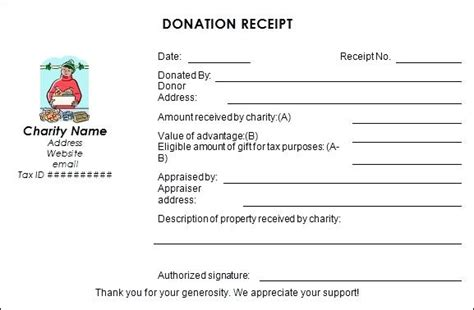 tax deductible receipt template australia tax deductible receipts donation receipt receipt templates