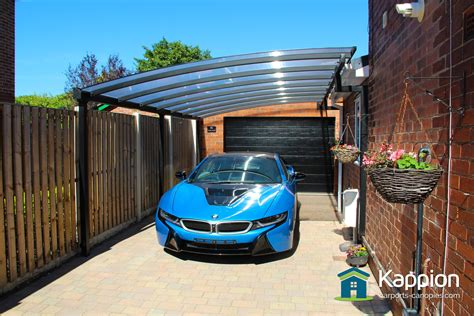 One Car Carport by Carport And Walkway Canopy Doncaster Kappion Carports