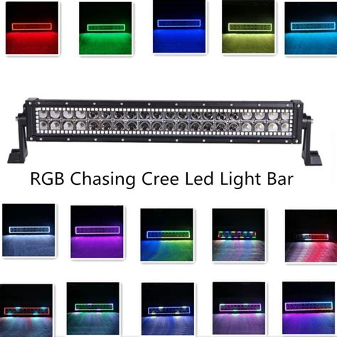 Led Light Bar Color Changing 1000 Images About Halo Led Light Bar On 4x4 Road Trucks And Ls