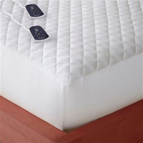 heating pad for bed buy heated mattress pads from bed bath beyond