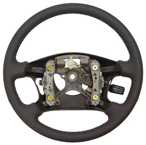 1999 2001 toyota solara steering wheel grey leather new w
