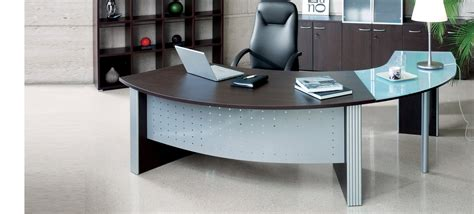 Curved Computer Desk Design Ideas Curved Desk Choice For Any Office Setup Designinyou