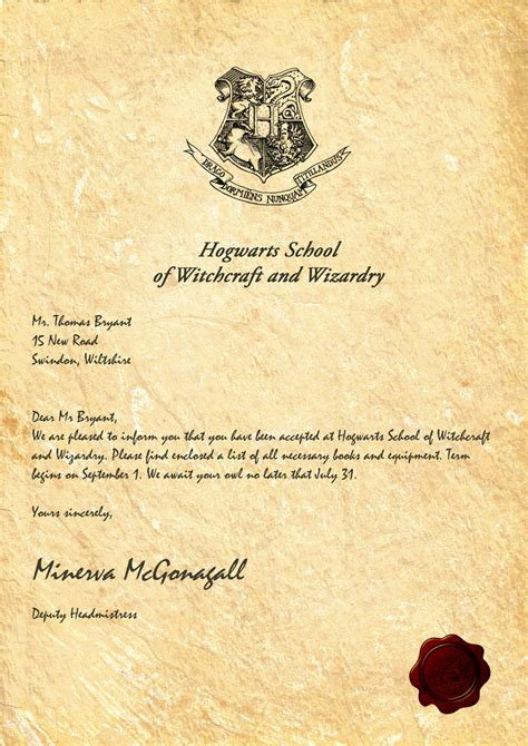 letter from hogwarts template hogwarts acceptance letter by legiondesign on deviantart
