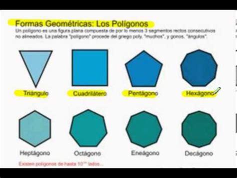 figuras geometricas hasta 20 lados clasificaci 243 n de poligonos por sus lados youtube