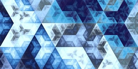 wallpaper digital art  symmetry blue fractal