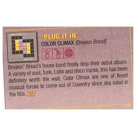 color climax color climax breakin bread uk press bnb 035 color climax