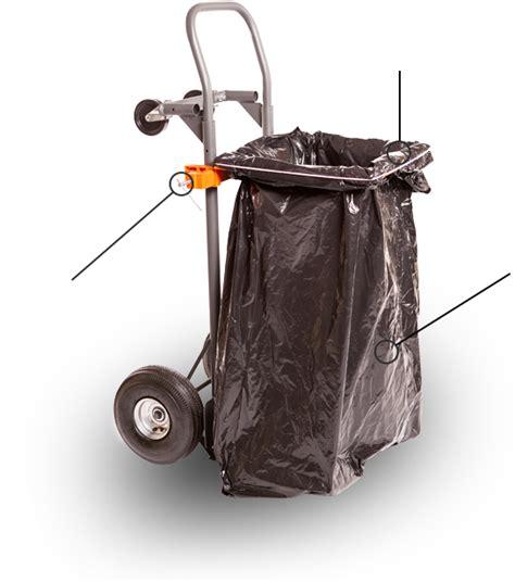 Trash Classify Bunk Light Gray by Bag Holder For Leaves Leaf Bag Holder Garden Tools Leaf N
