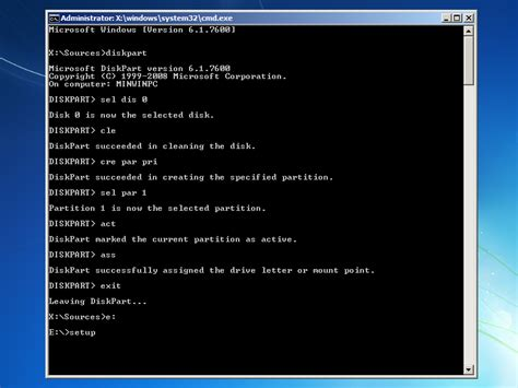 format dvd rw using command prompt diskpart experience longhorn