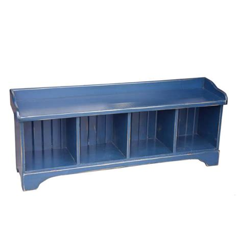 bench cubbies cubby bench 4 cubbies home envy furnishings solid wood