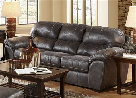 jackson leather sleeper sofa grant sofa sleeper in steel leather by jackson furniture