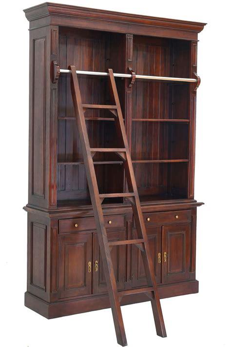bibliothek regal mit leiter bibliothek mit anlegeleiter moreko gmbh