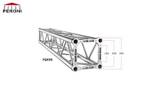 americane tralicci 7qx30 americane quadrate 29 cm americane in alluminio