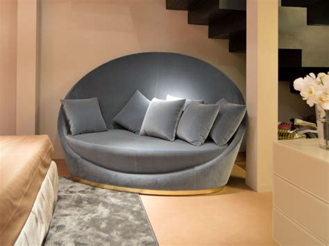 round loveseats style roundup decorating with round sofas and couches
