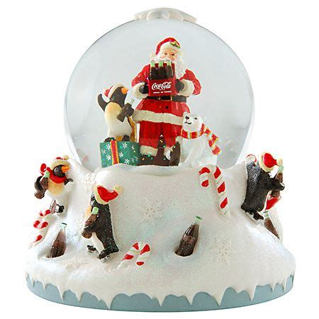 hallmark extra large snow globes 11 best coca cola snow globes images on snow globes snow and coke
