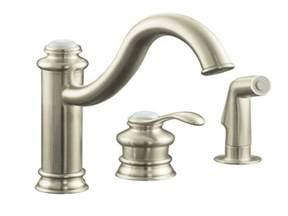 kohler single handle kitchen faucet repair kohler fairfax faucet kohler shower handles kohler single handle kitchen faucet with side spray