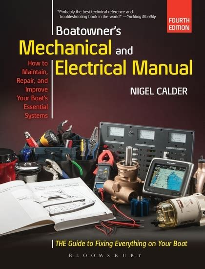 Pdf Boatowners Mechanical Electrical Manual Calder by Boatowner S Mechanical And Electrical Manual Todd Navigation