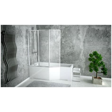 pare baignoire hauteur 130 pare baignoire catrix ii 3volets pare baignoire salle de