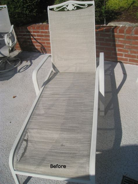 Patio Chair Fabric Replacement Patio Sling Fabric Replacement Ft 108 Honeycomb Textilene 174 Wicker