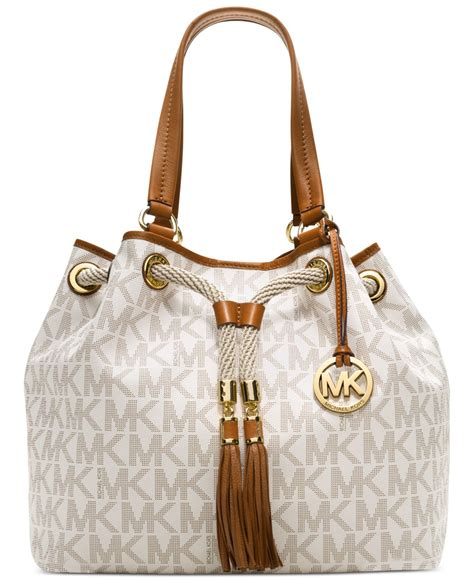 Intresse Tassel White by Michael Kors Jet Set Item Holz Fuer Tiere De