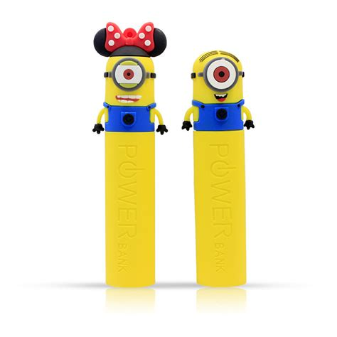 Power Bank Character Minions Bello 1 minions character wholesale rohs portable power bank for promotional gift buy