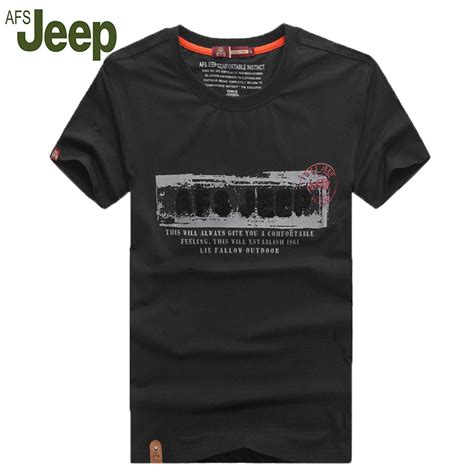 2016 afs jeep battlefield jeep brand clothing summer new