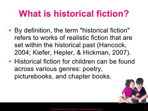 fictive biography definition historical fiction revision