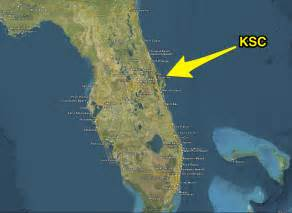 nasa kennedy center in florida map pics about space