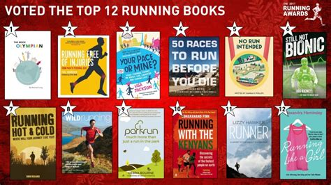 running in the books the 12 books of the running awards