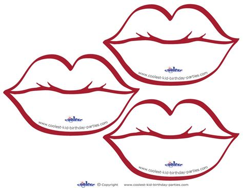 coloring pages of colored lips lips coloring clipart best