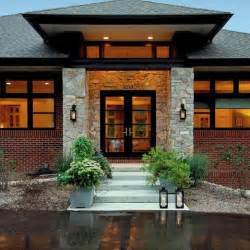 Entrance Design Ranch Home With Hip Roof And Covered Entrance Design Ideas