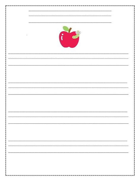 writing a math paper printable writing paper for third graders best photos of