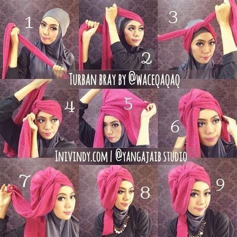 tutorial hijab pesta india 4 tutorial hijab pesta elegan dan mudah projects to try