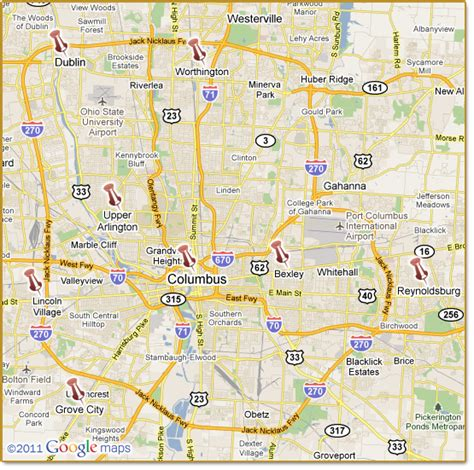 Maps Columbus Ohio by Columbus Suburbs Pictures To Pin On Pinterest Pinsdaddy
