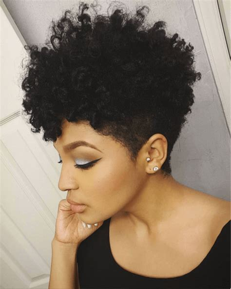 short hairstyles for kinky hair tapered cut twist curl short natural hair natural and