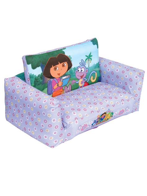 dora the explorer couch dora the explorer sofa bed and flip out sofa ready room