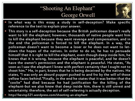 Shooting An Elephant Essay by Shooting An Elephant Orwell Essay Writefiction581 Web Fc2