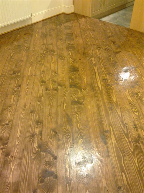 Staining   The Old Flooring Company