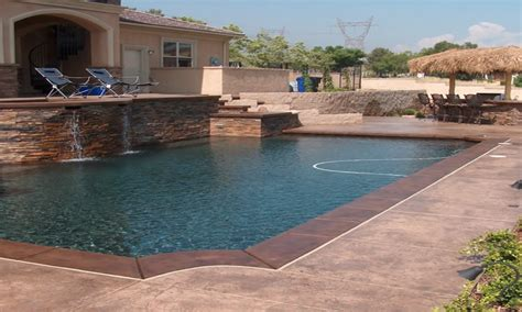concrete decks grey concrete pool deck color concrete pool deck colors pool ideas flauminc