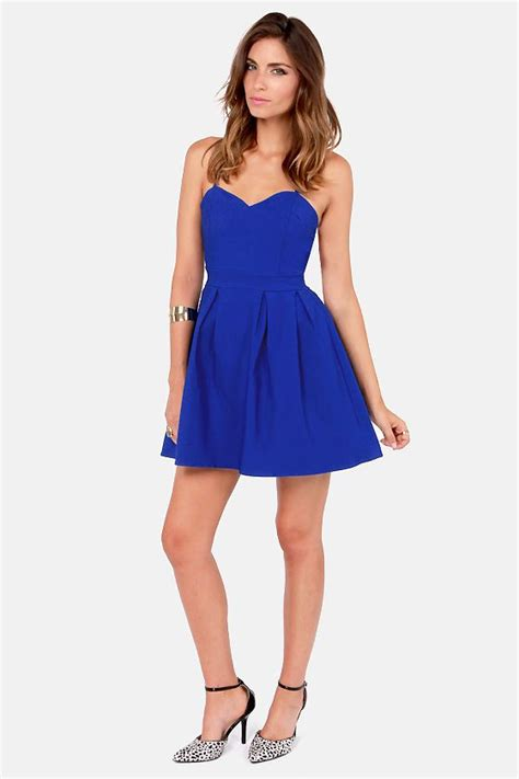 lulu s lulus exclusive backyard banquet backless royal blue dress