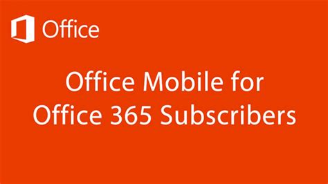 Apps For Office by Microsoft Launched Ms Office App For Android Smartphones