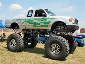 All photos of the custom made monster truck on this page are